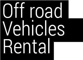 Off road vehicles renting